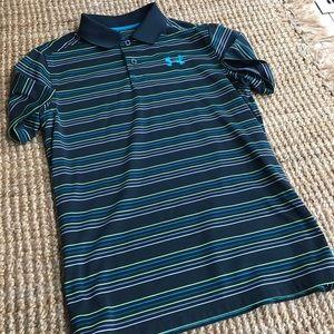 New- Boys Loose Fit UA Golf / Polo Shirt